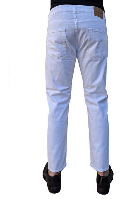 Jeans bianco davis shorter BE ABLE   Jeans   BULL10