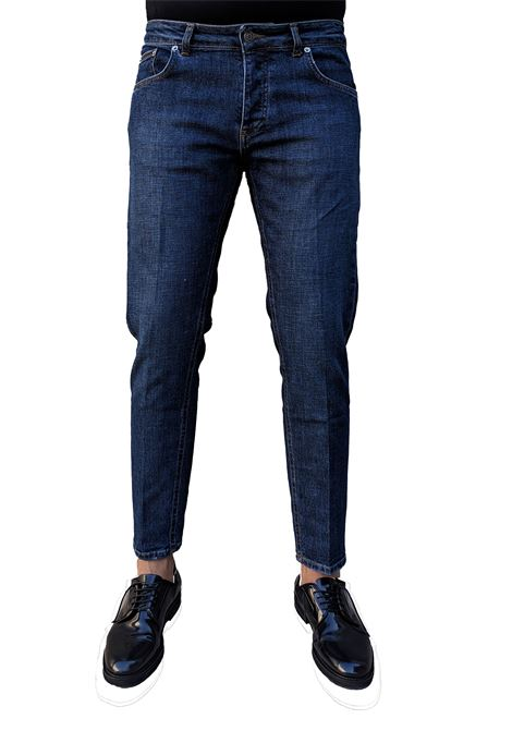 Davis shorter blu scuro BE ABLE | Jeans | GKC S201400
