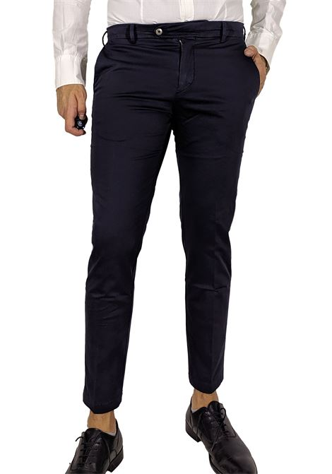 Pantalone blu alexander shorter BE ABLE | Pantaloni | RS S202