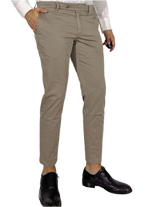 Pantalone slim beige BE ABLE | Pantaloni | RS S205