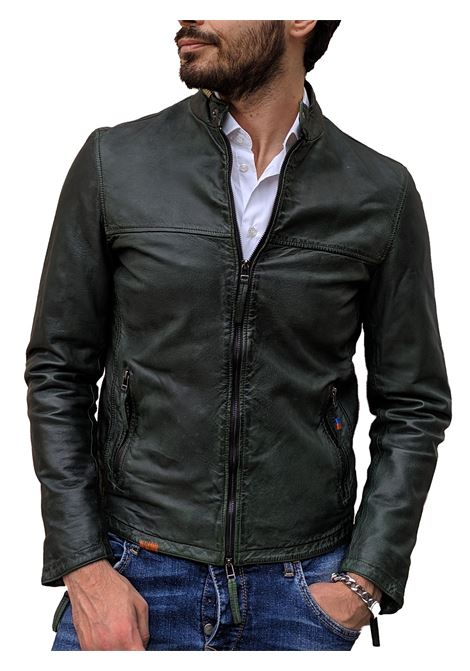 Biker jacket bob brown leather BOB | Jackets | BIKE R0142