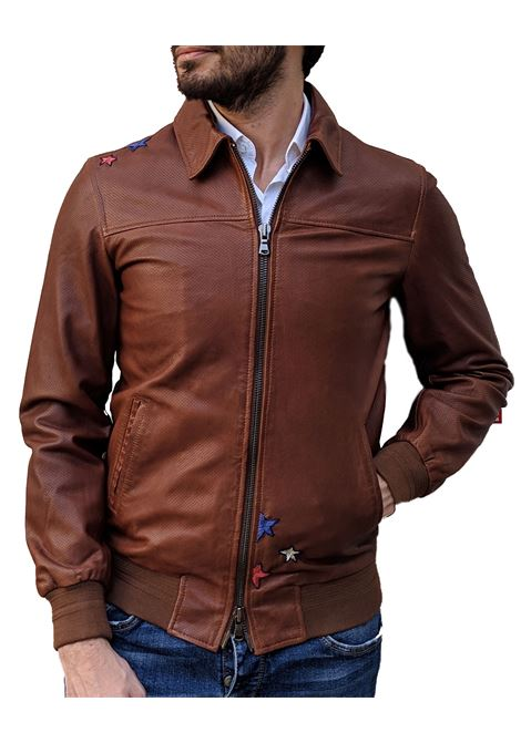 Bob jacket cognac true leather BOB | Jackets | FONZIE1