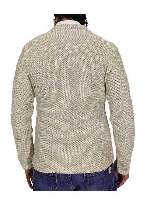 Giacca maglia beige mor BOB   Giacche   MOR1