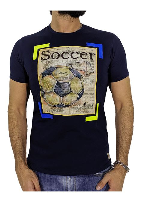 T-shirt giornale soccer BOB | T-shirt | PAPER16