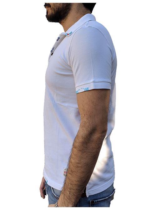 White polo embroidered ricky BOB | Polo | RICKYR0128