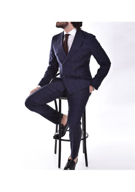 Brian Dales double-breasted checked suit jk4281 ga72p BRIAN DALES | Dresses | JK4281 GA72P003