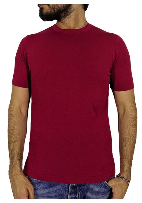 Earth red round neck T-shirt CIRCOLO 1901 | T-shirts | CN27122