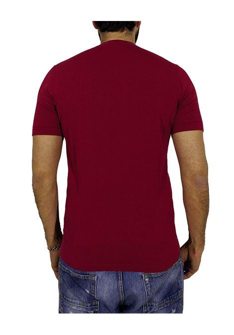 Earth red round neck T-shirt CIRCOLO 1901 | T-shirts | CN27122