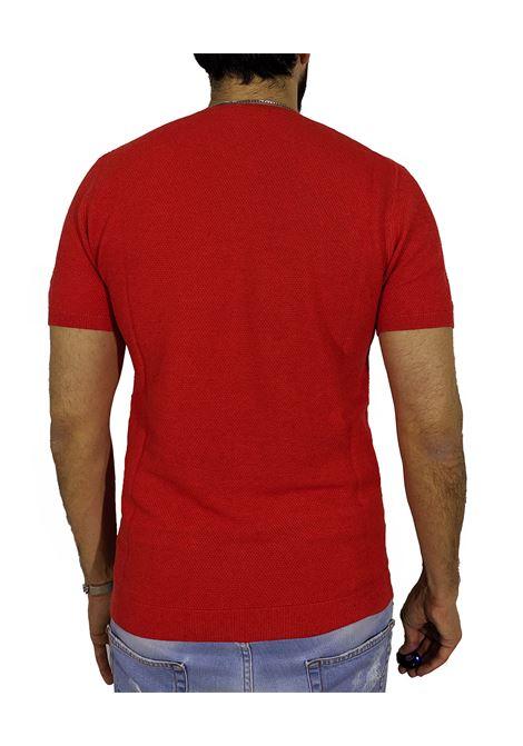 T.shirt orange pallino CIRCOLO 1901   T-shirts   CN27162