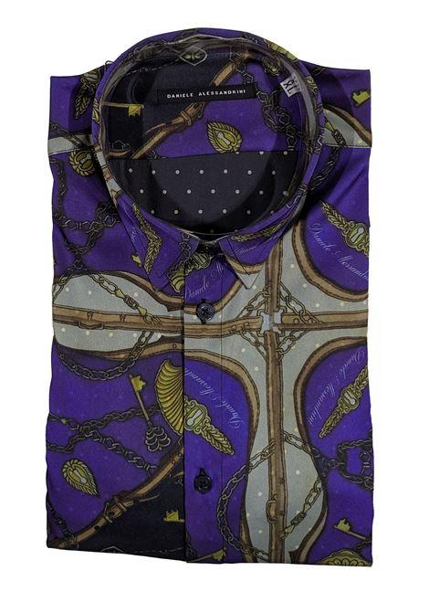 Shirt Zelig blue DANIELE ALESSANDRINI | Shirts | C6583R1286423