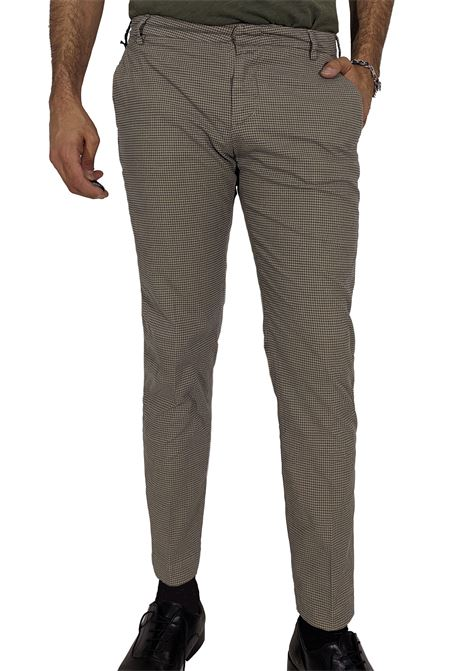 Entreamis checkered trousers ENTRE AMIS | Trousers | P208188/18801