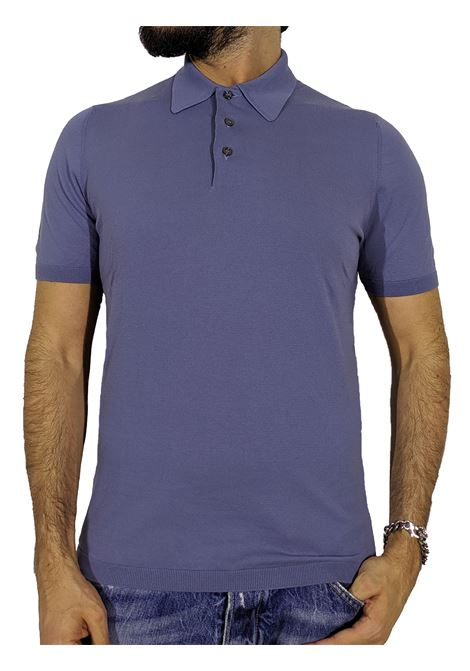 Fresh cotton knitted polo shirt GRAN SASSO | Polo | 43156/20731540