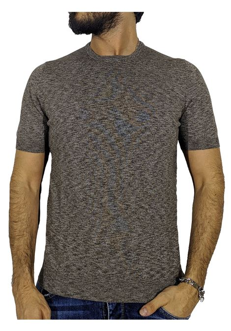 T-shirt brown summer sweater GRAN SASSO | T-shirts | 57108/30601146