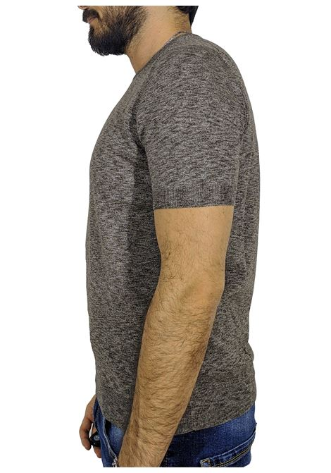 T-shirt maglietta marrone GRAN SASSO | T-shirt | 57108/30601146