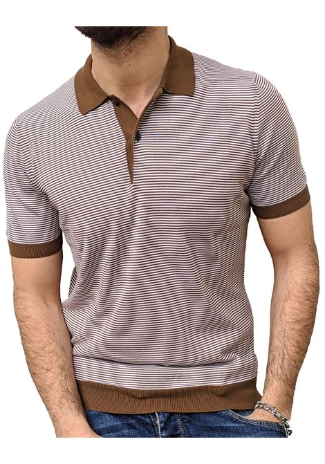 Gran Sasso men striped polo shirt GRAN SASSO | Polo | 57170/20620155