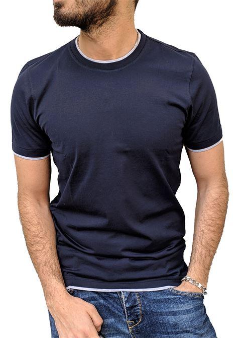 Gran Sasso men s double t shirt GRAN SASSO | T-shirts | 60123/73710590