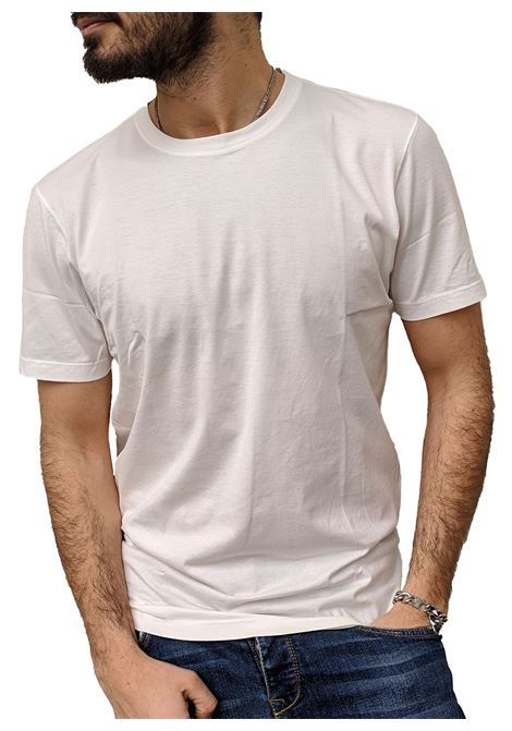White Gran Sasso man t-shirt under jacket GRAN SASSO | T-shirts | 60136/73725005