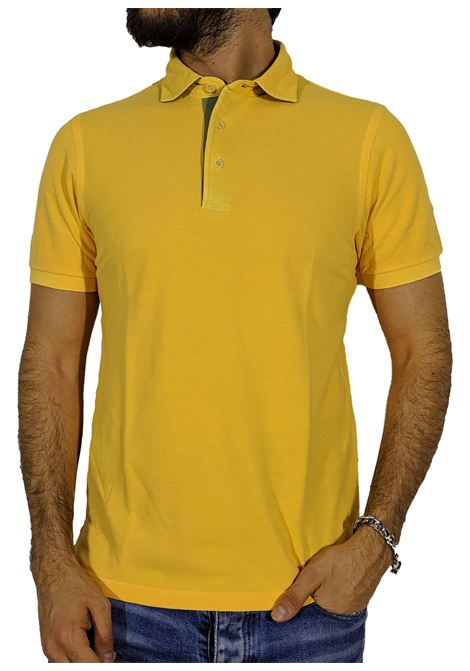 Vintage yellow ocher polo shirt GRAN SASSO | Polo | 60187/79053319