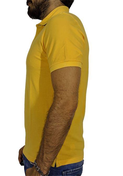 Vintage yellow ocher polo shirt GRAN SASSO   Polo   60187/79053319