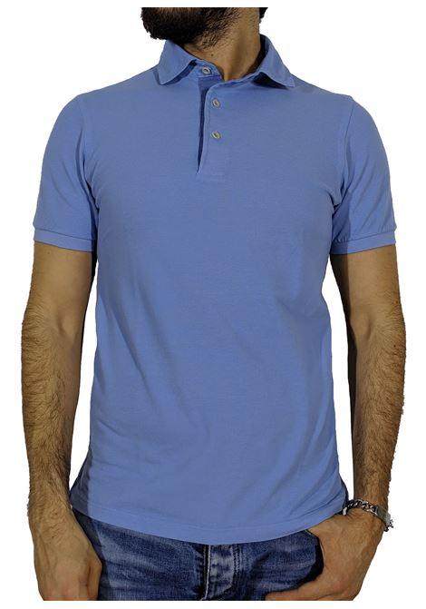Vintage light blue polo shirt GRAN SASSO | Polo | 60187/79053574