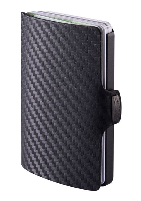 Carbon wallet black I-CLIP | Wallets | CARBON1