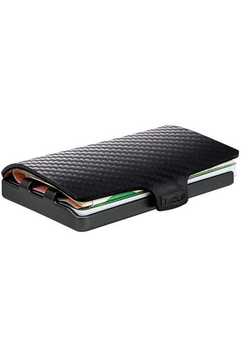 portafoglio carbonio nero I-CLIP | Portafogli | CARBON1