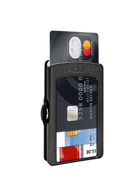 Carbon wallet black I-CLIP | Wallets | CARBON1