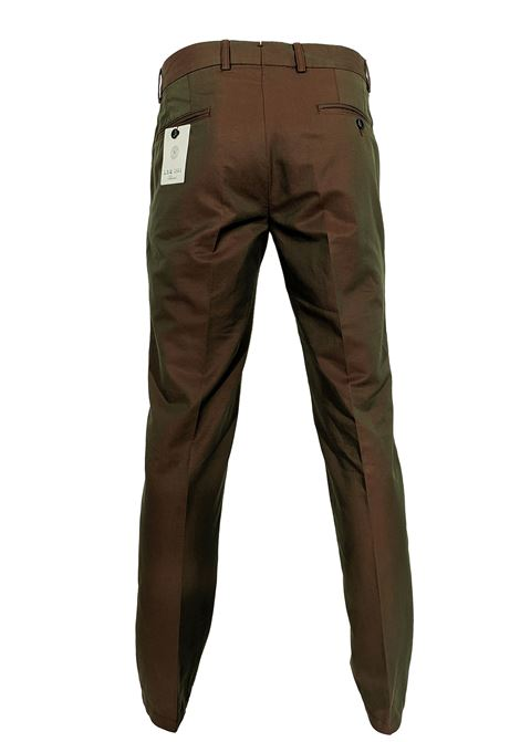 LBM slim linen trousers L.B.M. 1911 by Lubiam | Trousers | 5730/847102