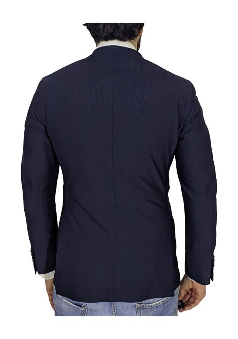 Blazer slim easy blue nylon L.B.M. 1911 by Lubiam | Blazers | 5746/28443