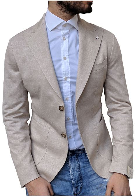 LBM 1911 dandy suit jacket beige summer L.B.M. 1911 by Lubiam | Blazers | 5754/28271