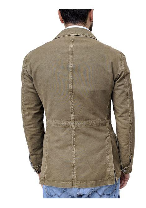 Sahara jacket LBM 1911 linen green L.B.M. 1911 by Lubiam | Blazers | 5811/28082