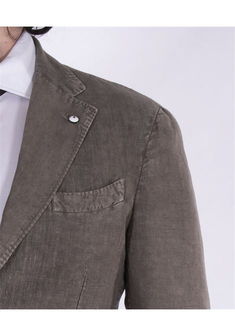 LBM brown linen suit L.B.M. 1911 by Lubiam   Dresses   5833 38337