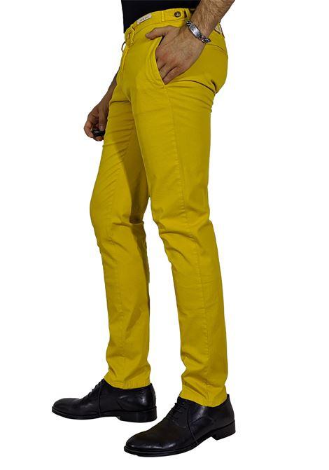 Pantalone slim senape L.B.M. 1911 by Lubiam | Pantaloni | 5864/847605
