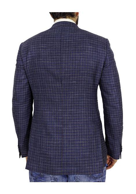 Wool silk linen jacket Luigi Bianchi Mantova by Lubiam | Blazers | 2520/23221