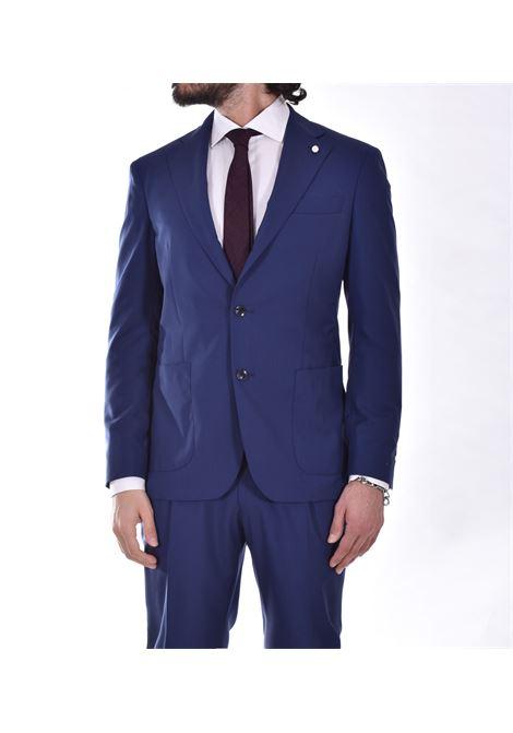Luigi Bianchi Mantova blue dress Drago 160 Luigi Bianchi Mantova by Lubiam | Dresses | 4504/34016