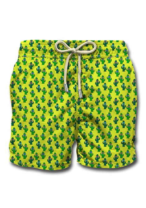 Swimsuit cactus yellow MC2 SAINT BARTH | Swimsuits | CACS941