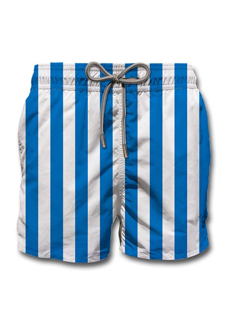 Blue striped swimsuit MC2 SAINT BARTH | Swimsuits | MAXL611