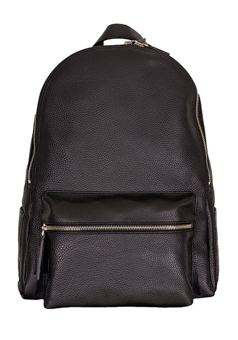 Black micron leather backpack ORCIANI | Bags | P0063599