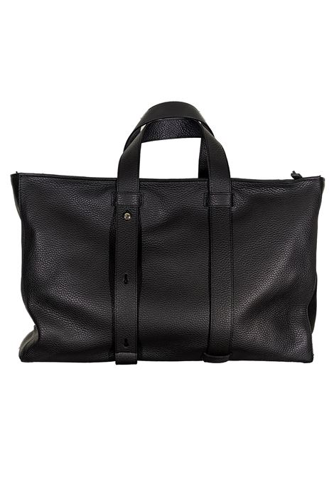 Micron black leather work bag ORCIANI | Bags | P0069999
