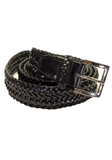 black belt braided ORCIANI | Belts | U079201