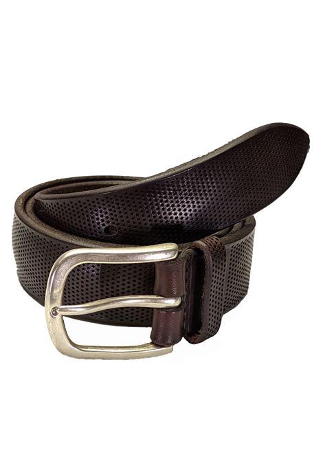 Cintura forata marrone ORCIANI | Cinture | U78192