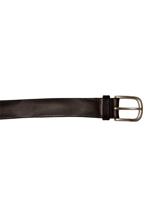 Perforated brown belt ORCIANI | Belts | U78192