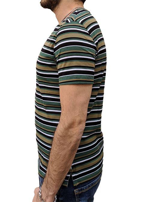 T-shirt Paolo Pecora multicolor PAOLO PECORA | T-shirts | F3024039R591