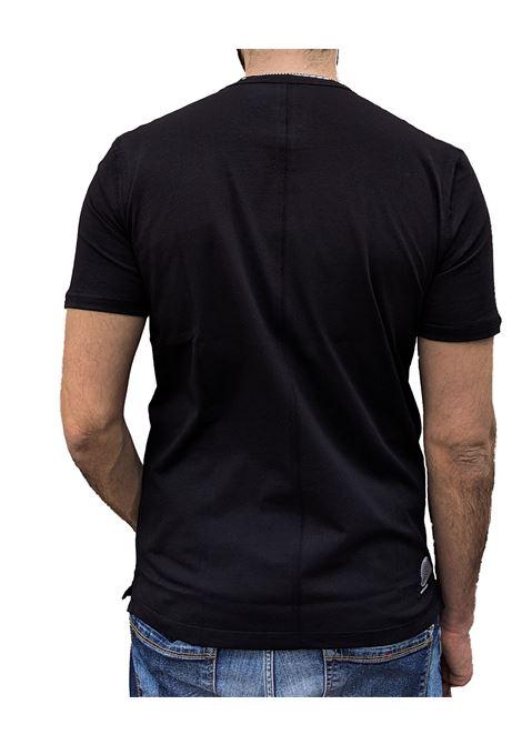 T-shirt nera Paolo Pecora stampa PAOLO PECORA | T-shirt | F315T0459000