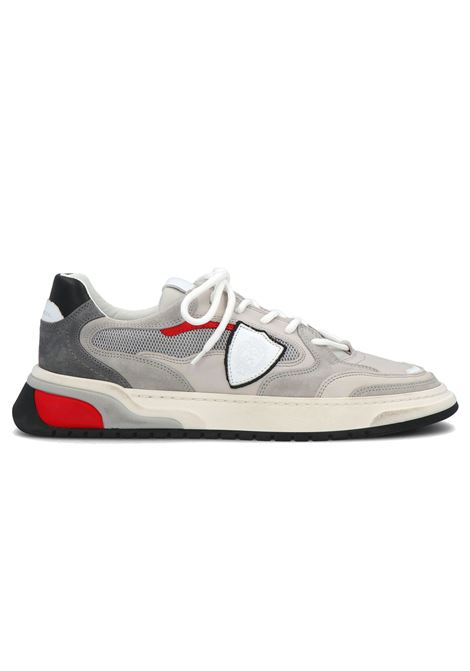Philippe Model saint denis grigio grey black PHILIPPE MODEL | Shoes | ESELUVX02
