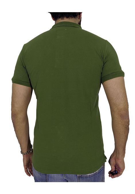 Polo slim verde militare POLITA | Polo | BASIC-2050