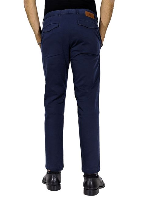 jungle blue chinos trousers PT TORINO | Trousers | NT01Z00CHN0377