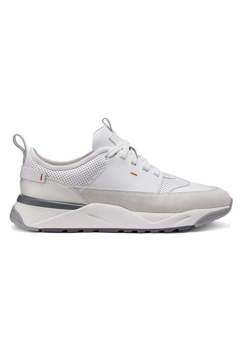Shoes sneakers park jumi white SANTONI | Shoes | MBIO21274BGRXJUM20
