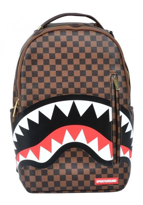 Backpack shark black green SPRAYGROUND | Bags | 9100B1890SS201