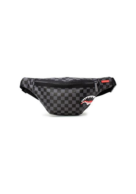 Black gray shark belt bag SPRAYGROUND | Bags | 9100B2805NSS201
